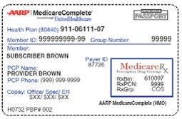 """Medicare Advantage """"Part C"""" card"""